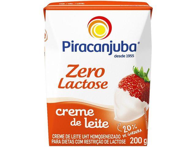 Imagem de Creme de Leite Zero Lactose Piracanjuba 200g