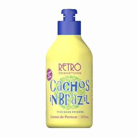 Imagem de Creme de Pentear Cachos in Brazil Retrô Cosméticos 300ml