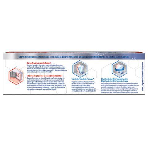 Imagem de Creme Dental Colgate Sensitive Pro-Alívio Reparação Completa 110g