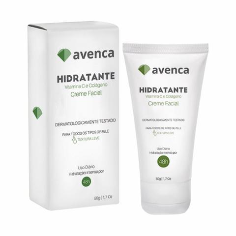 Imagem de Creme Facial Hidratante Avenca Cosméticos 50g