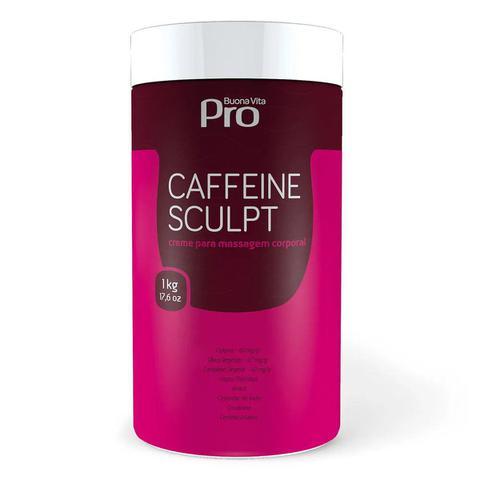 Imagem de Creme Para Massagem Corporal Modelador Caffeine Sculpt 1kg