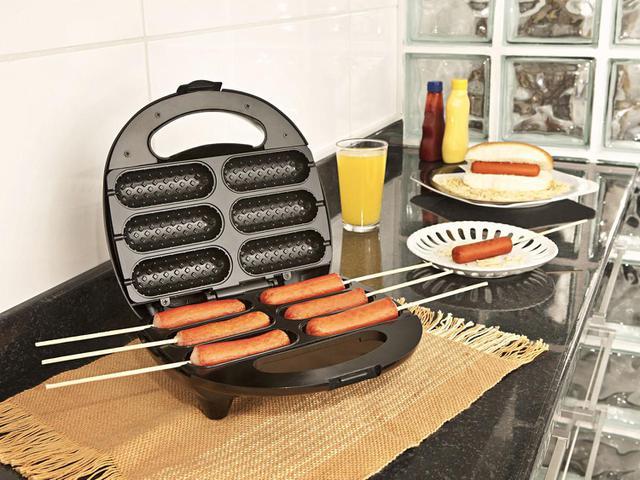 Imagem de Crepeira e Hot Dog 2 em 1 SteamMax SM-680