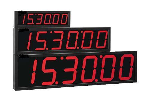 Imagem de Cronômetro Progressivo 6 dígitos / 60 metros-CP-3G