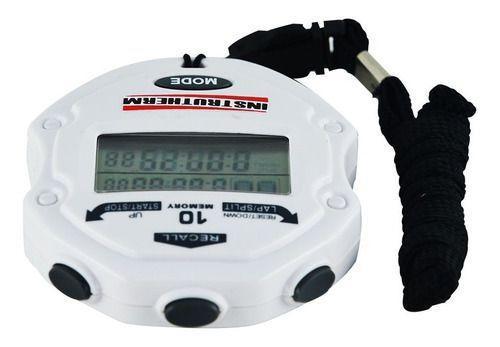 Imagem de Cronômetro Progressivo Digital Relógio Alarme Data Hora Lap