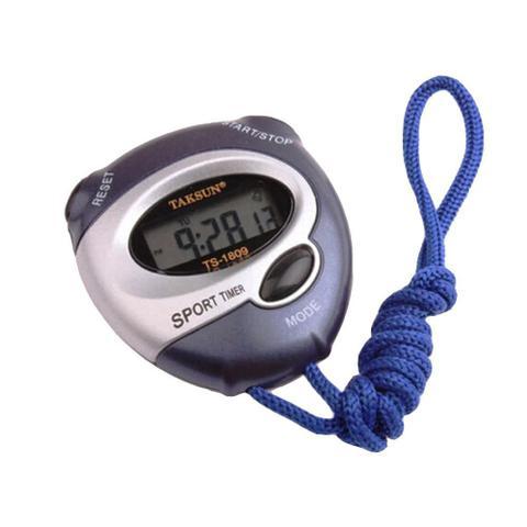 Imagem de Cronômetro Progressivo Digital Relógio Alarme Data TakSun TS1809