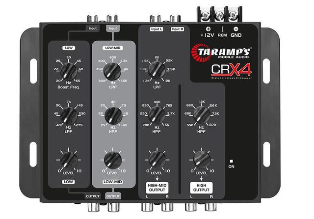 Imagem de Crossover Taramps CRX4 4 Vias 12 dB/8ª