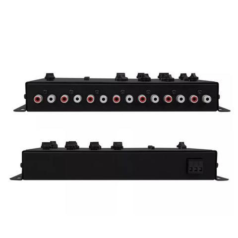 Imagem de Crossover Taramps CRX5 PLUS Bass Boost 05 Vias Filtro High Pass Low Pass Som Automotivo