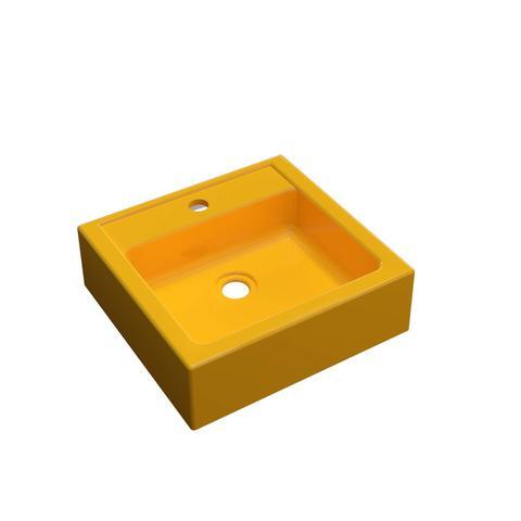 Imagem de Cuba para Banheiro Q35W Compace Amarelo
