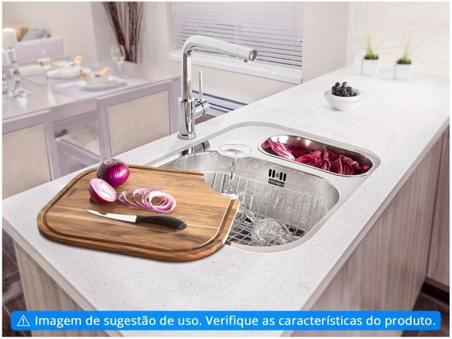 Imagem de Cuba para Cozinha Franke Dupla Aço Inox de Embutir