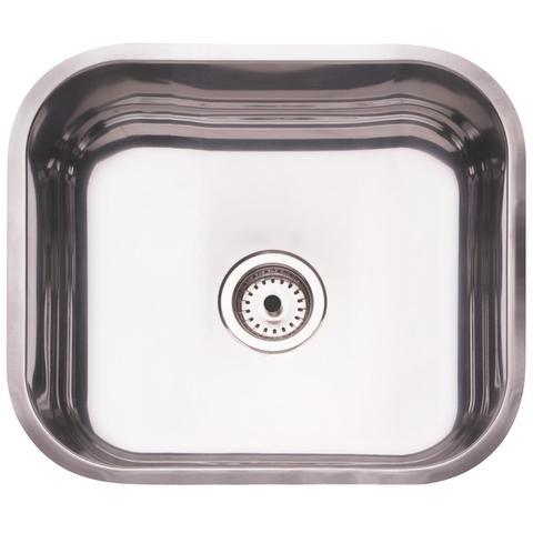 Imagem de Cuba Para Cozinha Retangular 40 Bl Aço Inox 94081506 Tramontina