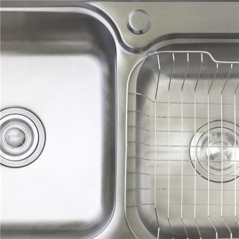 Imagem de Cuba Pia Dupla Gourmet Luxo Prizi Aço Inox 304 43x78cm Kit Completo - MD7843B