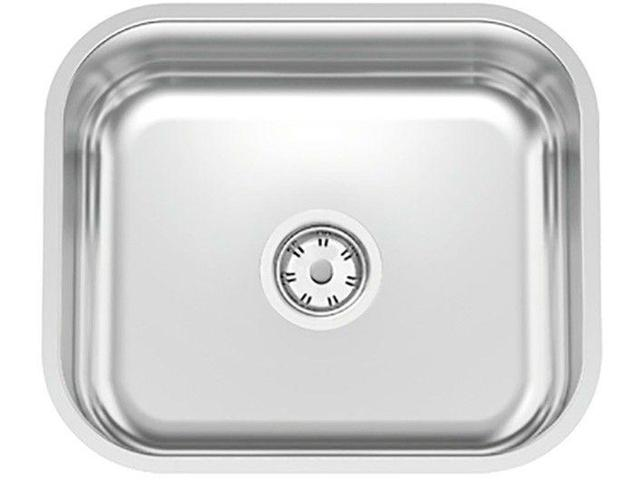 Imagem de Cuba Simples de Embutir para Cozinha Tramontina - Inox Retangular 43x37cm Standard Lavínia