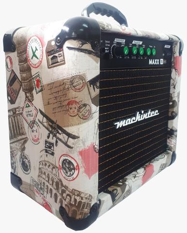 Imagem de Cubo Amplificador Guitarra Mackintec Maxx15 Color*