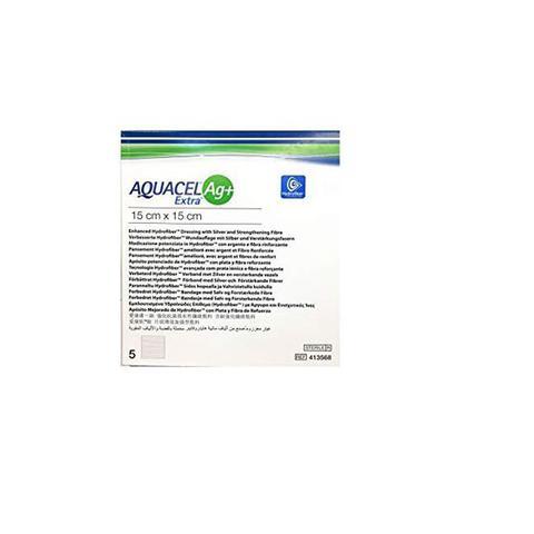 Imagem de Curativo Aquacel AG+ Extra 15 x 15 cm - Convatec