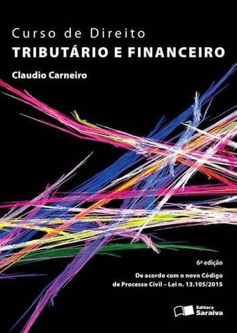 Imagem de Curso de direito tributario e financeiro
