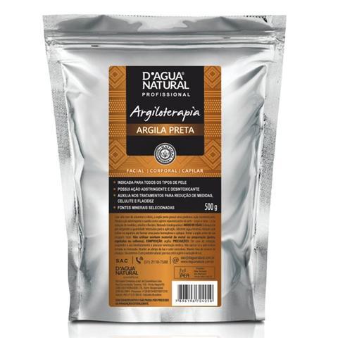 Imagem de Dagua natural argiloterapia argila preta 500g