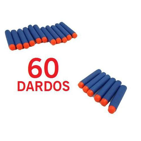 Imagem de Dardos refil 60 unidades tipo nerf bw143