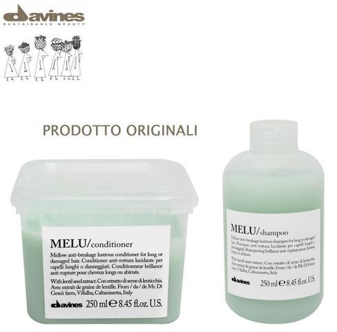 Imagem de Davines Melu shampoo e condicionador