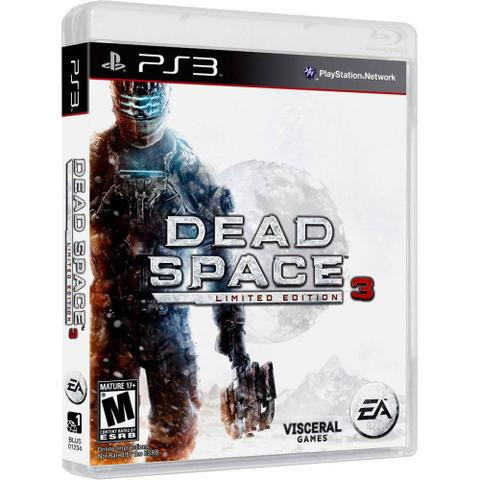 Jogo Dead Space 3 - Edicao Limitada - Playstation 3 - Ea Games