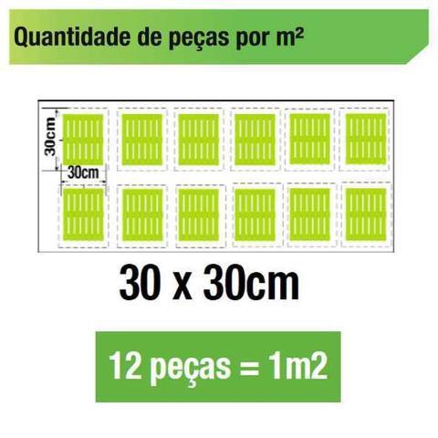 Imagem de Deck De Madeira Modular Base Madeira 30x30 Cm NeonX