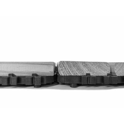 Imagem de Deck de Madeira Modular Base Plástica Isabela Revestimentos 30cm x 30cm (Placa) Madeira de Lei Mista
