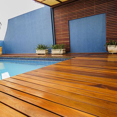 Imagem de Deck em régua Isabela 2cm x 10cm x 2m até 4m Madeira Cumaru (m²)