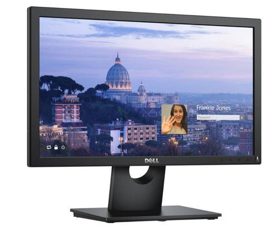 Imagem de Dell E1916H - 18,5  TN Monitor LCD com retroiluminação LED - Widescreen - 16:9 - Preto
