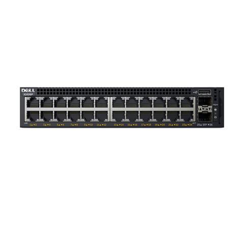 Imagem de Dell Switch X1026P, 24 portas POE de 1GbE, 2 portas SFP, opção para 12 portas POE+