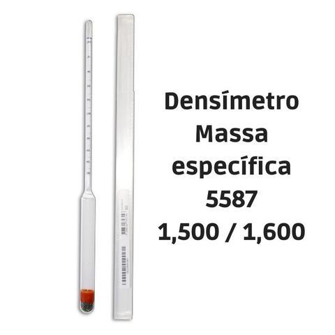 Imagem de Densímetro para massa específica 1,500/1,600:0,001 5587