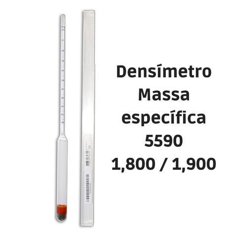 Imagem de Densímetro para massa específica 1,800/1,900:0,001 5590