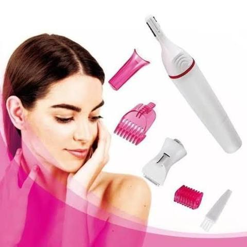Imagem de Depilador Aparador Elétrico Sensitive Sweet Remove Pelos Facial Corporal Indolor