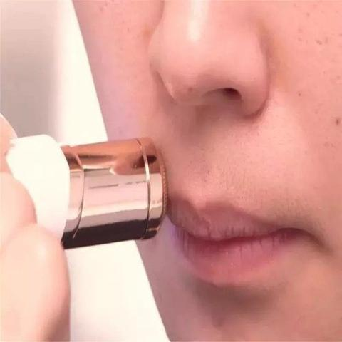 Imagem de Depilador Batom Aparador Facial De Pelos Pele Portatil (34955)