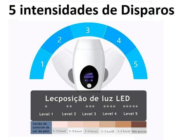 Imagem de Depilador Definitiva Laser Luz Pulsada Remover Pelos Em Casa IPL Original