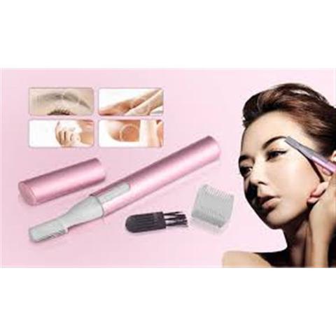 Imagem de Depilador e aparador de pelos feminino depilação portatil de rosto, sobrancelha, virilha e axila a p