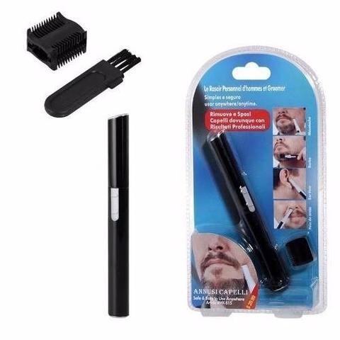 Imagem de Depilador e aparador de pelos masculino e feminino depilação portatil de rosto, barba, sobrancelha,