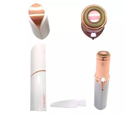 Imagem de Depilador elétrico Facial Formato Batom portátil