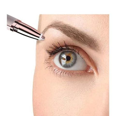 Imagem de Depilador Facial Indolor Para Sobrancelhas USB + Mini Pente