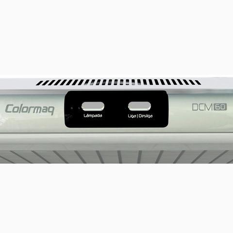 Imagem de Depurador de Ar 60Cm Colormaq DCM60 Bivolt para Fogão 4 Bocas - Branco
