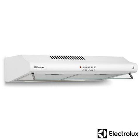 Imagem de Depurador de Ar de 60 cm Electrolux com 3 Velocidades, Exaustor e 02 Filtros Branco - DE60B