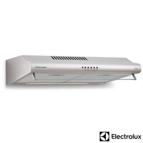 Imagem de Depurador de Ar de 60 cm Electrolux com 3 Velocidades, exaustor e 2 Filtros, Inox - DE60X