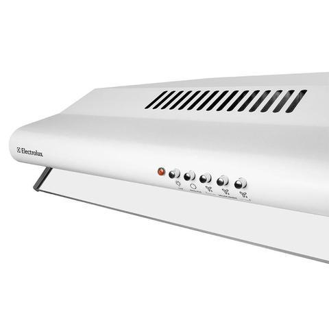Imagem de Depurador de Ar Electrolux DE60B 60cm, 3 Velocidades, Branco - 110V
