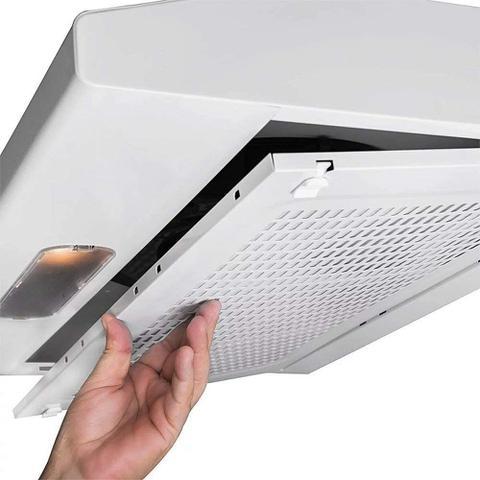 Imagem de Depurador De Ar Slim 60 Cm C/ Manta Branco 110V DI601BR - Suggar