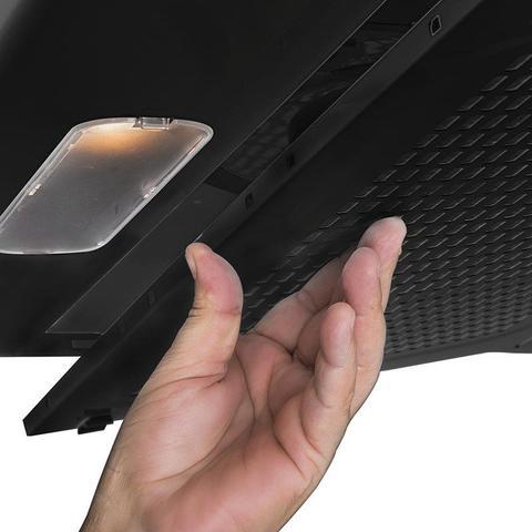 Imagem de Depurador de ar slim 80 cm preto 220v suggar di802pt