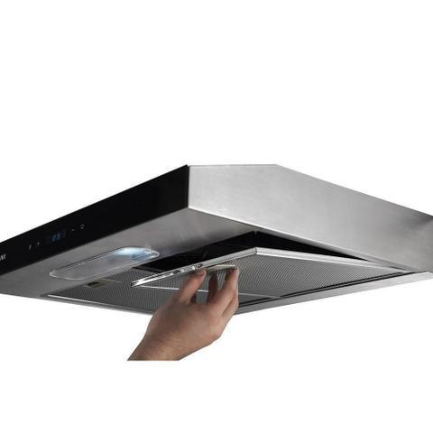 Imagem de Depurador De Ar Slim Touch 80 Cm Inox Suggar Di82thix