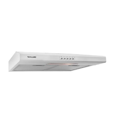 Imagem de Depurador De Ar Suggar 60cm 4 Bocas 3 Velocidades Duplo Filtro Luminária Modo Coifa Branco