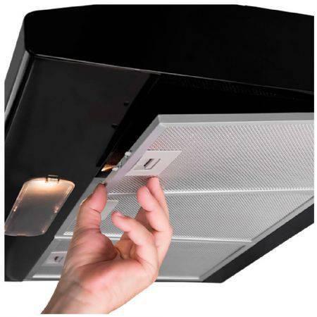 Imagem de Depurador de Ar Suggar Slim 80cm, Preto, DI81PT, 110V