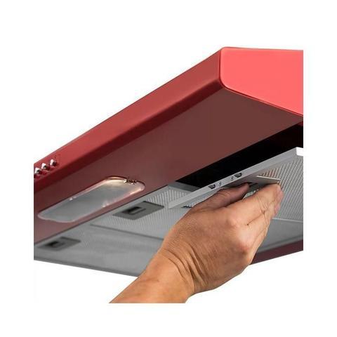 Imagem de Depurador de Ar Suggar Slim DI82VM, 80 cm, Vermelho