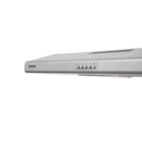Imagem de Depurador de Ar Suggar Slim Prata 80 cm 3 Velocidades 105W