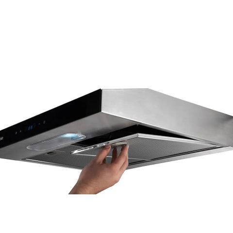 Imagem de Depurador de Ar Suggar Slim Touch 80 CM Inox 110V DI81THIX