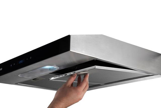 Imagem de Depurador de Ar Suggar Slim Touch 80 CM Inox DI81THIX 110V